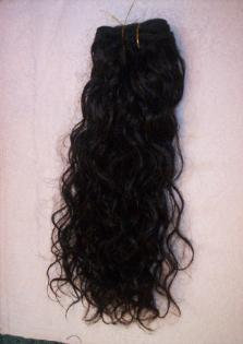 Natural Curly Machine Weft (4oz)