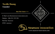 Neurozo Innovation Business Card (2019 O