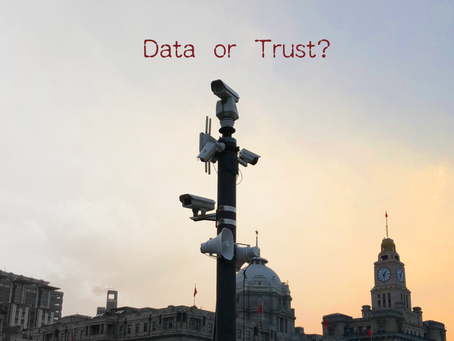 Customers' trust and their data, which is more important to your company?