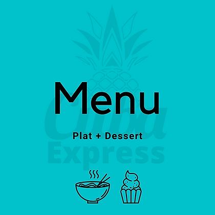 Plat+Dessert