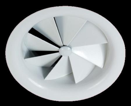 AXP Difusor circular de lamas fijas