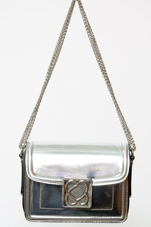 Barbara MilanoLove Bag Silver Leather