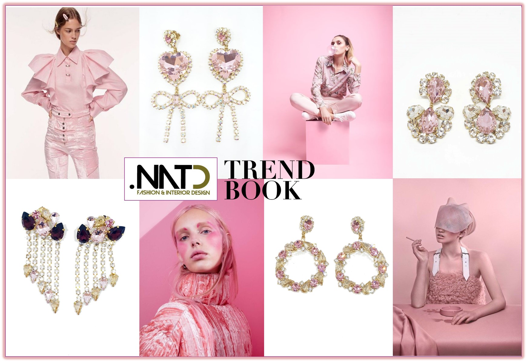 pink Trend book