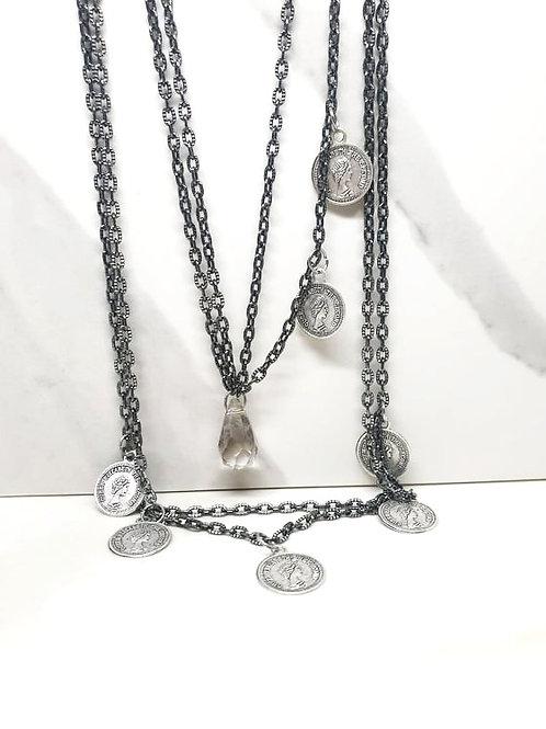 Duo of Chocker & Princess necklaces