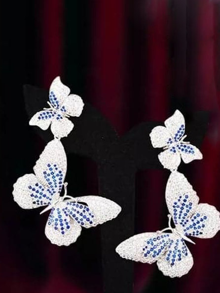 Butterflies Couture Jewelry Earrings