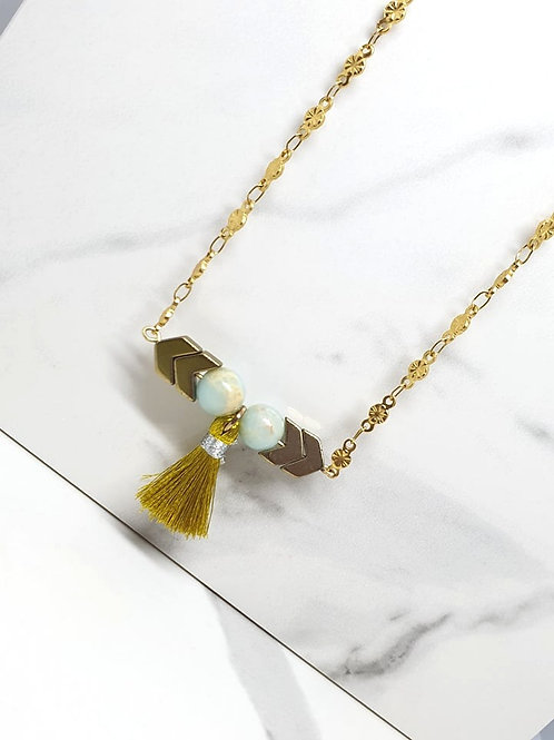 Matinee  size necklace