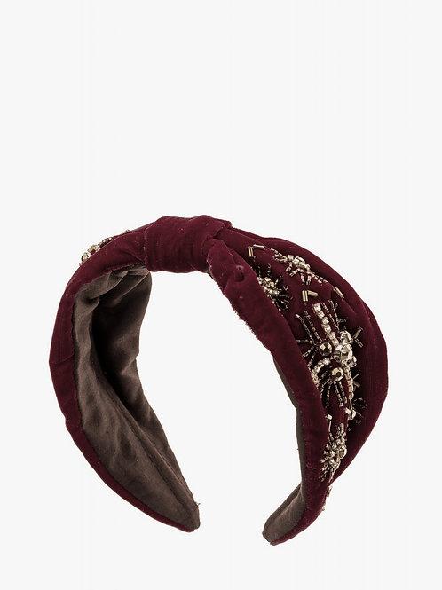 Headbands Lilla/magenta with gold details