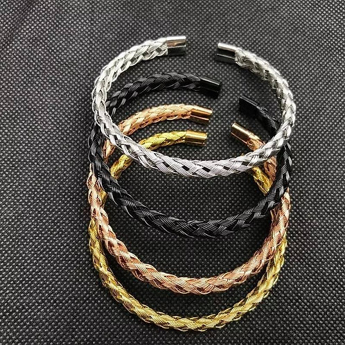 Mens Collection Bracelet Grey guncolor