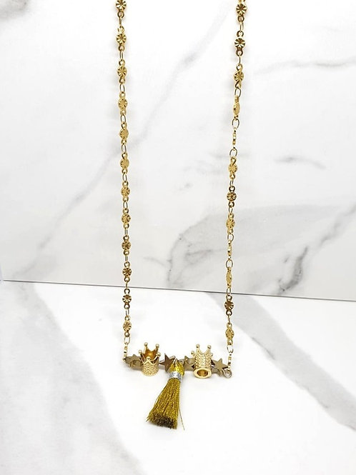 copy of Matinee  size necklace