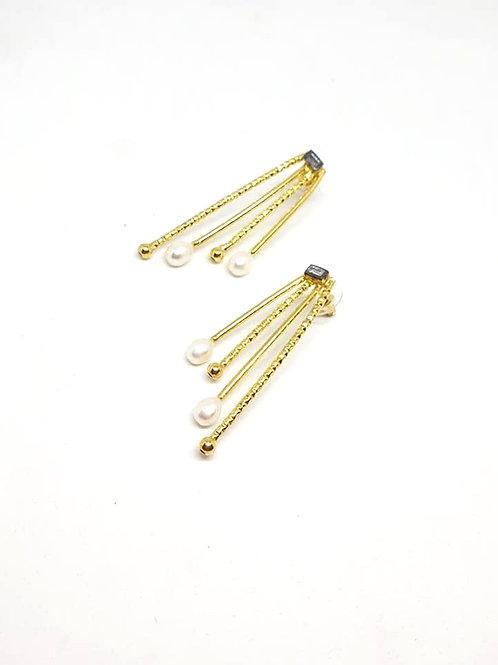 Bohemian Crystal Statement earrings