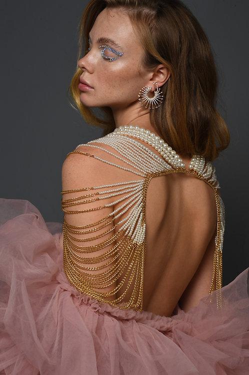"""Dress to """" Seduce"""" jewelry bodypiece"""