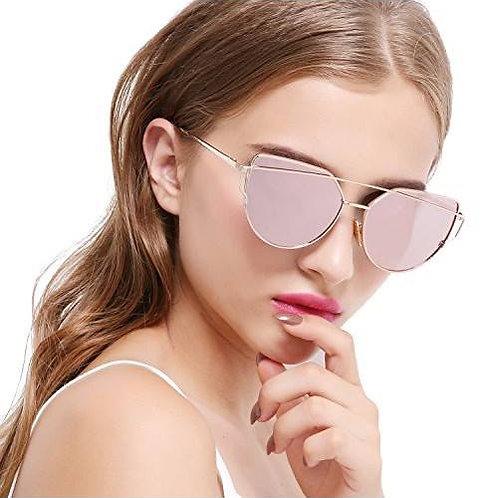 Sunglasses rose gold