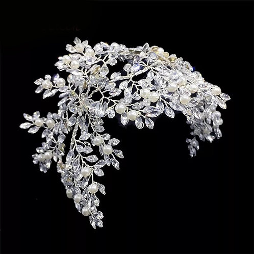 Bridal Leaf Headpiece
