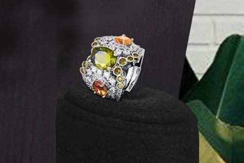 Couture Zircons Ring