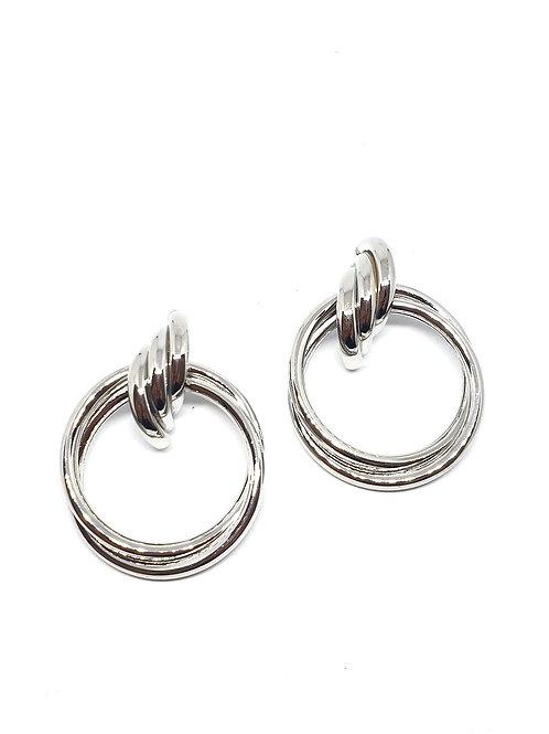 Multilayerd hoops earrings