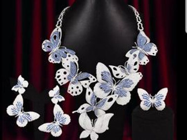 Butterflies Couture Jewelry Set