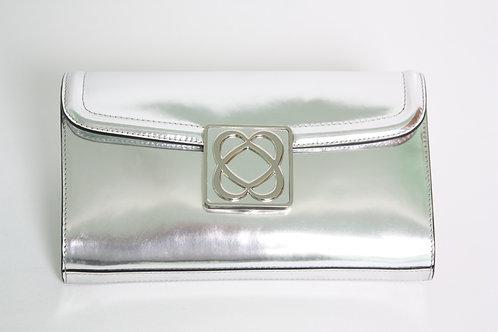 Barbara MilanoLove Bag Silver Leather