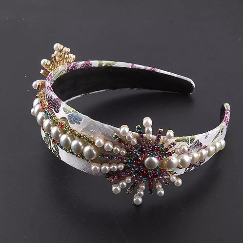 Crystalized Headband great Gatsby