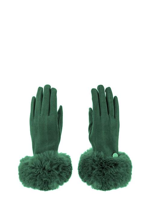 Guanti verde