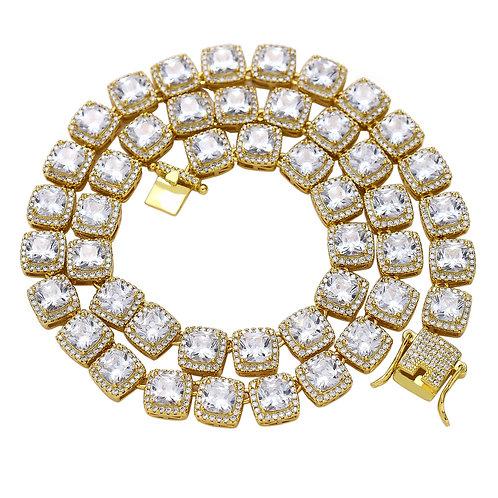 Zircon Tennis Necklace