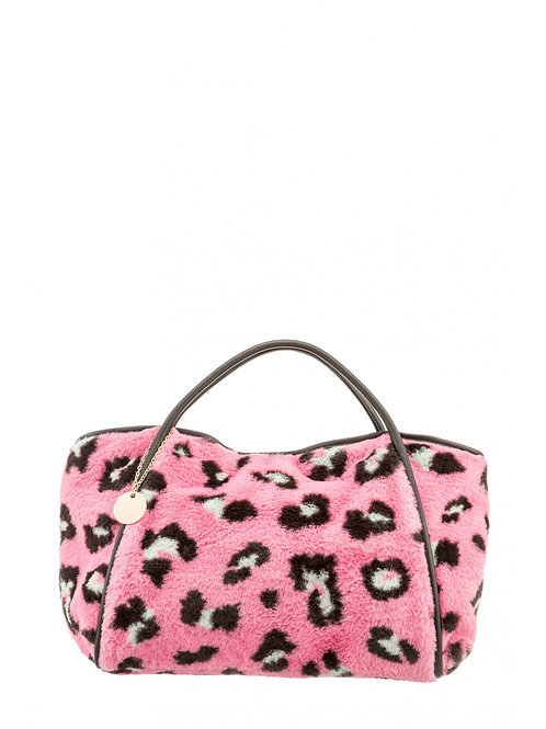 Shoulder bag fuksia