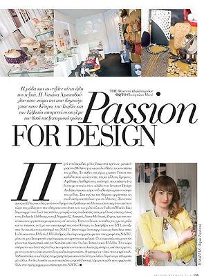pasion for design
