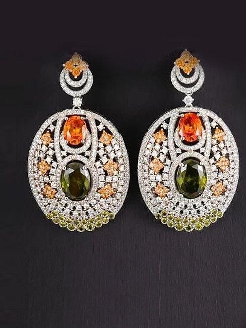 Couture Zircons Earrings