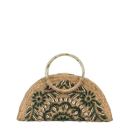 Handbag/ Clutch bag green