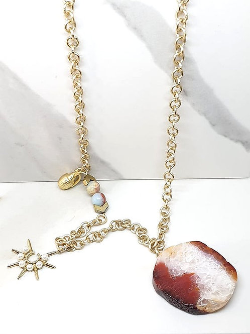 Matinee /Long Charms Necklace