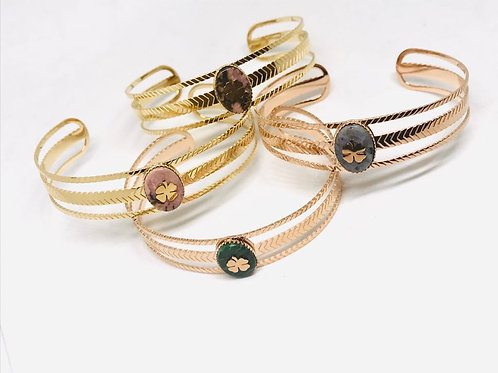 Boho stainless steel bracelets