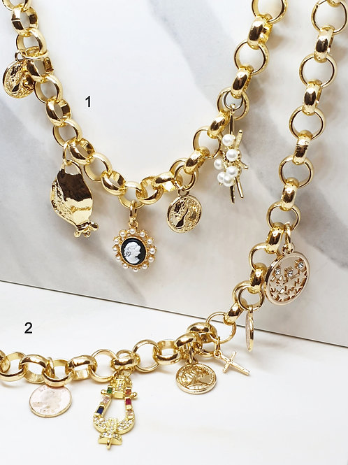 Chocker Charms Necklace