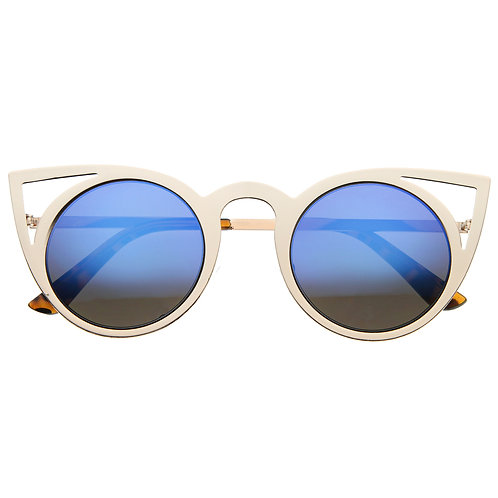 Cat eye sunglassesblue