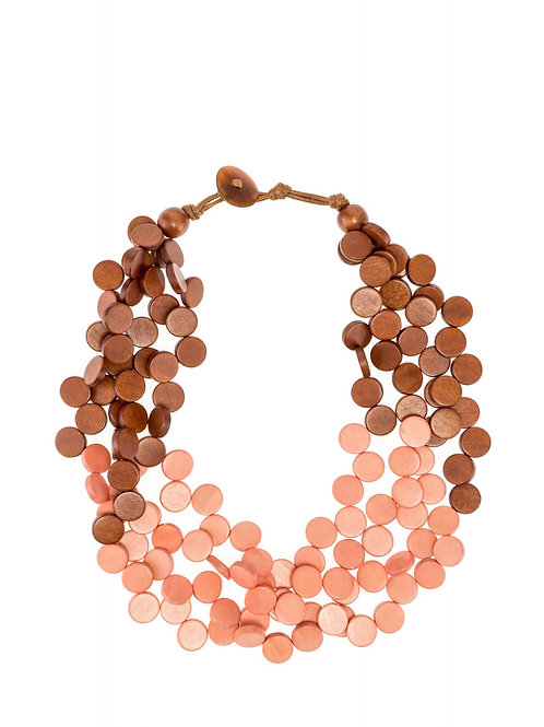 Necklace BROWN/PINK