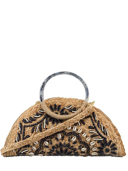 Handbag/ Clutch bag blue