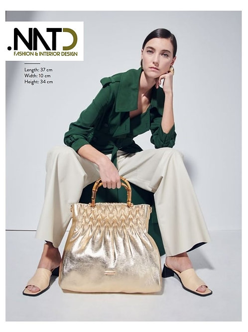 Handbag Gold Color