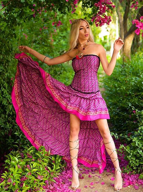 Boho-chic dress