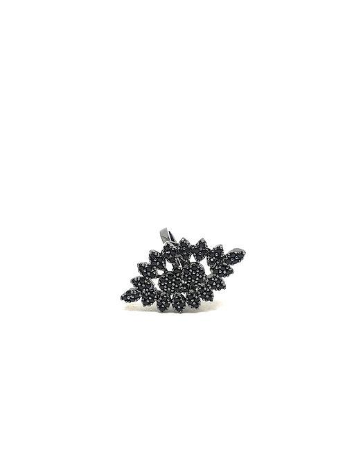 """Black temptation""Zircon Ring"