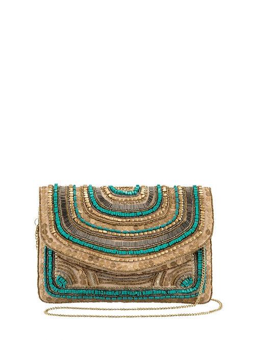 Crossbody bag turquoise