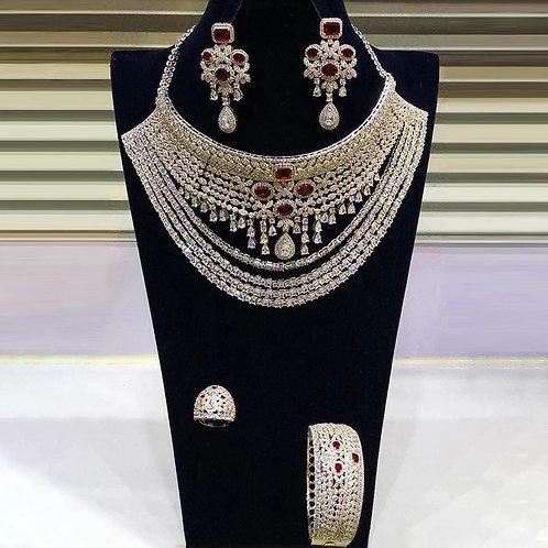 Couture Zircon Choker Set
