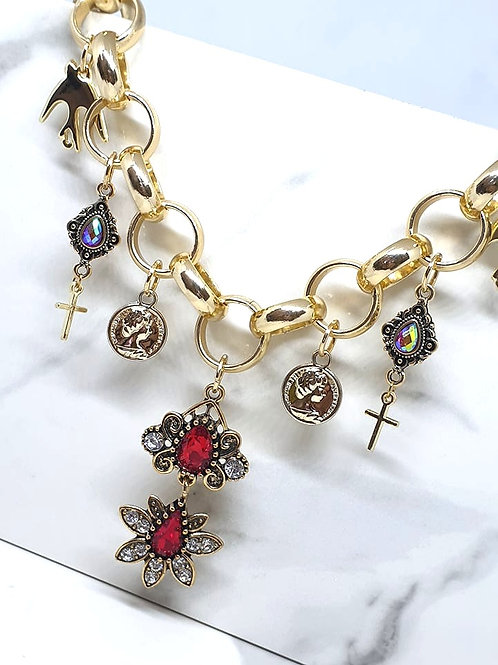 Chocker/Princes Charms Necklace
