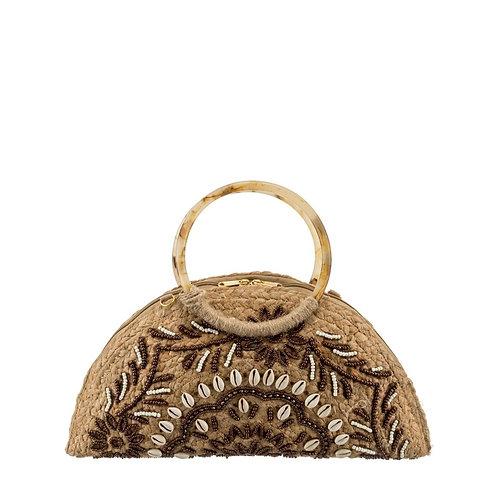 Handbag/ Clutch bag coffee