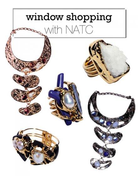 Σε ένα εμπνευσμένο χώρο η σχεδιάστρια Νατάσα Χριστοδούλου, υπό την επωνυμία NATC δημιουργεί μοναδικά κοσμήματα-έργα τέχνης!