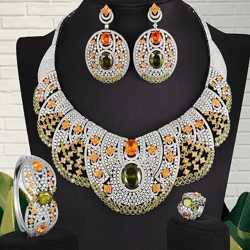 Zircons Couture Jewellery Set
