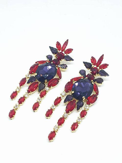 Statment Swarovski Earrings