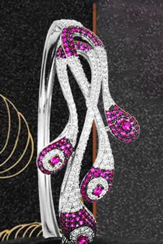Couture Zircons Bracelet