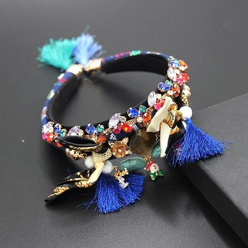 Crystalized Headband ethnic style