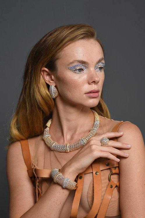 Snake Skin Jewelry Set