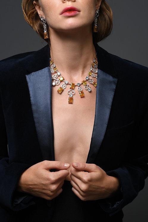 """""""Seduction"""" Couture necklace"""