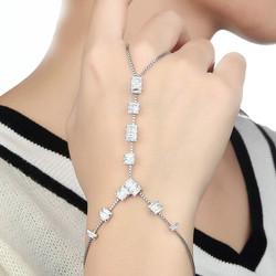 Baguette Cut - Slave Ring-Bracelet