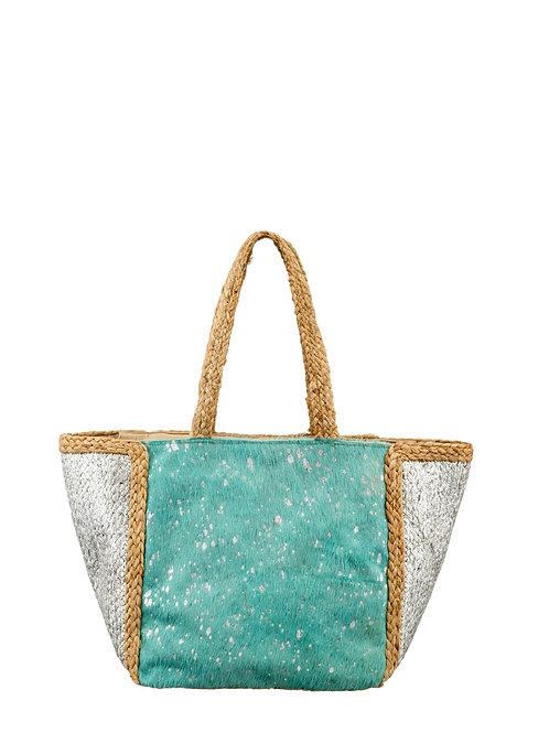 Shoulder bag turquoise